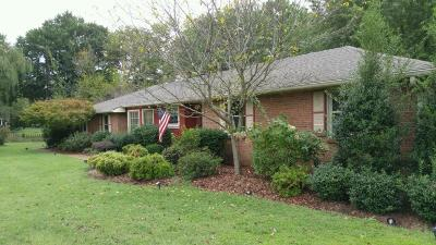 Hendersonville Single Family Home Under Contract - Showing: 134 Lake Terrace Dr