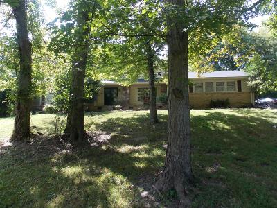 Hendersonville Single Family Home For Sale: 524 Indian Lake Rd