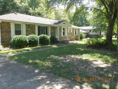 Christian County, Ky, Todd County, Ky, Montgomery County Single Family Home For Sale: 1582 Elberta Drive