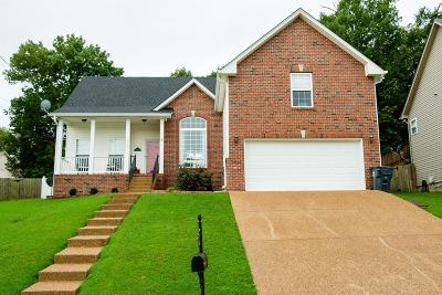Old Hickory Single Family Home Under Contract - Showing: 1704 Carrington Ct