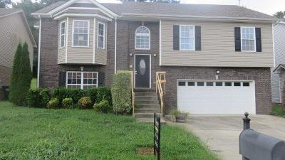 Clarksville Single Family Home Under Contract - Showing: 932 Excalibur Dr
