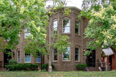 Nashville Condo/Townhouse Under Contract - Showing: 1028 B S 18th Ave #B