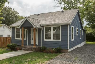 Murfreesboro Single Family Home For Sale: 318 1st Ave