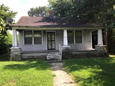 East Nashville Single Family Home Under Contract - Showing: 628 Shelby Ave