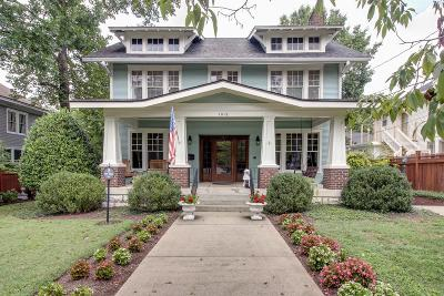 Franklin Single Family Home For Sale: 1018 W Main St