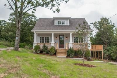 East Nashville Single Family Home Under Contract - Showing: 338 Duke St