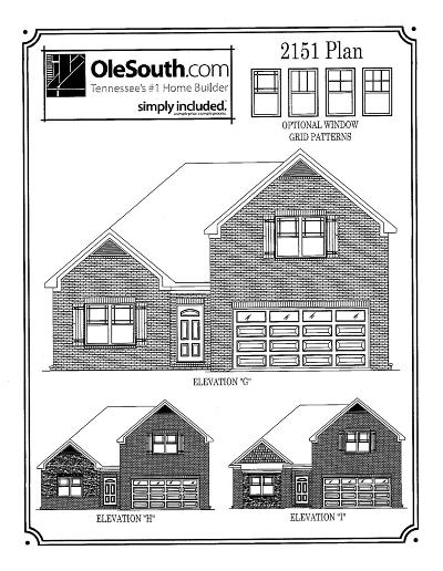 Spring Hill Single Family Home For Sale: 4007 Oxford Place Lot 231