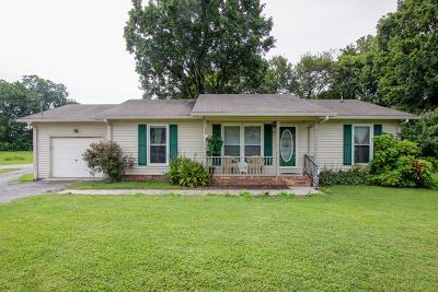 Shelbyville Single Family Home For Sale: 898 Railroad Ave