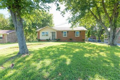 Clarksville Single Family Home Under Contract - Not Showing: 514 Bellamy Ln