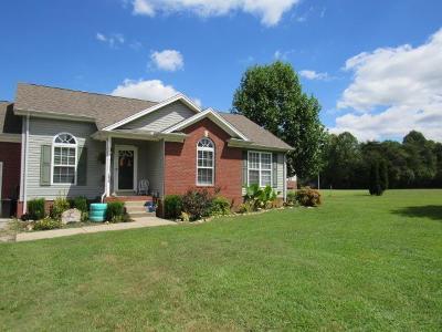 Chapmansboro Single Family Home For Sale: 1312 Porter Morris Rd