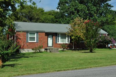 Goodlettsville Single Family Home For Sale: 517 Alta Loma Road