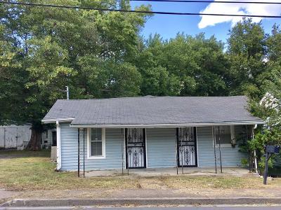 Murfreesboro Single Family Home For Sale: 511 E Castle St