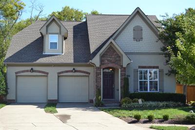 Mount Juliet Single Family Home For Sale: 3047 Kirkland Cir