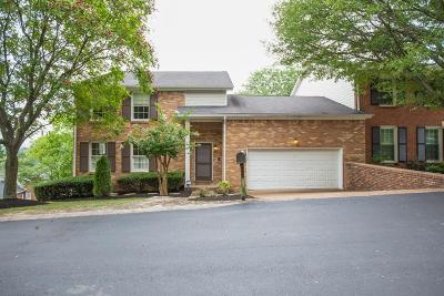 Brentwood Condo/Townhouse For Sale: 1625 Old Fowlkes Dr