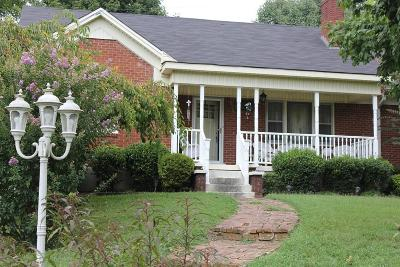 Davidson County Single Family Home For Sale: 1017 Virginia Ave