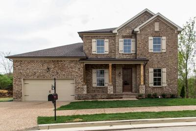 Nolensville Single Family Home For Sale: 200 Bekvedere Cir Lot 1