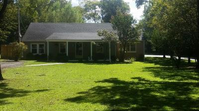 Hermitage Single Family Home For Sale: 1600 Bakers Grove Rd