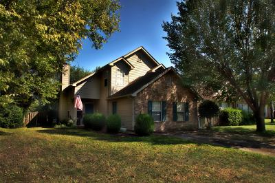 Smyrna Single Family Home For Sale: 209 Hunters Chase Dr