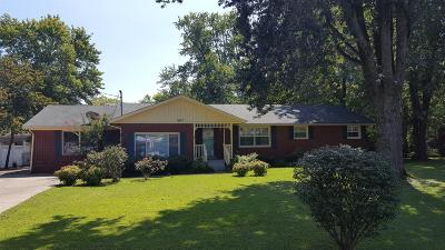 Single Family Home Under Contract - Showing: 807 Elliott Dr