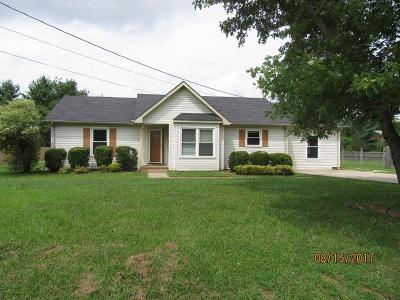 Christian County, Ky, Todd County, Ky, Montgomery County Single Family Home For Sale: 667 Buttercup Dr