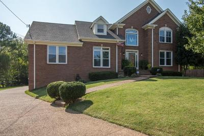 Hendersonville Single Family Home Under Contract - Showing: 112 Wickham Ct