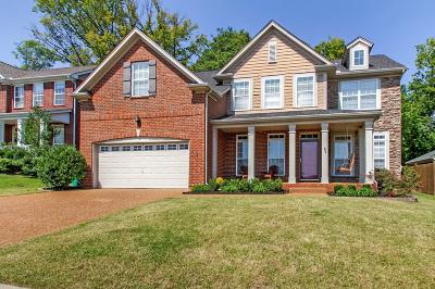 Spring Hill Single Family Home For Sale: 1016 Williford Ct