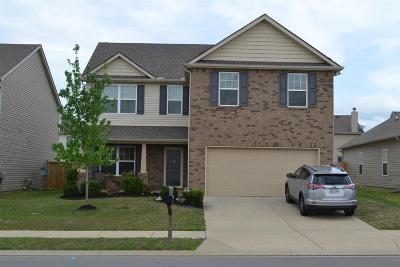 Lebanon Single Family Home For Sale: 712 White Oak Drive