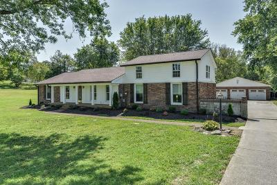 Mount Juliet Single Family Home For Sale: 1245 W Division St