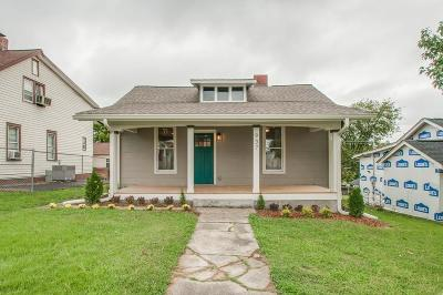 East Nashville Single Family Home Under Contract - Showing: 937 Silverdene Pl