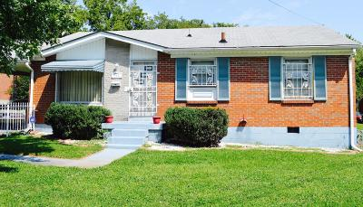 Davidson County Single Family Home For Sale: 705 N 5th Court