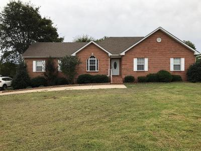 Single Family Home Under Contract - Showing: 616 Rock Springs Rd