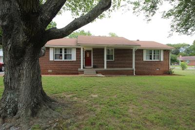 Rutherford County Single Family Home For Sale: 8616 Hall St