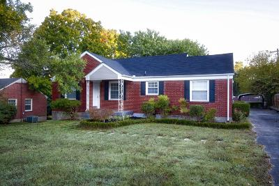 Christian County, Ky, Todd County, Ky, Montgomery County Single Family Home For Sale: 1729 Valley Rd