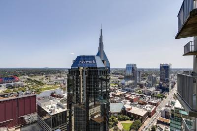 Nashville Condo/Townhouse For Sale: 415 Church St Apt 2711 #2711