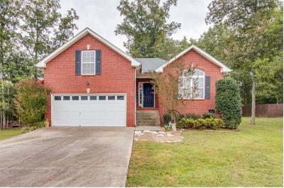 Mount Juliet Single Family Home Under Contract - Showing: 421 Anthony Branch Dr