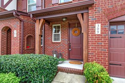 Mount Juliet Condo/Townhouse For Sale: 309 Windgrove Ter