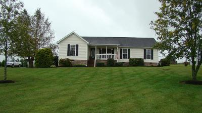 Shelbyville Single Family Home For Sale: 387 Adams Rd
