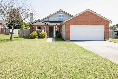Williamson County Single Family Home Under Contract - Showing: 2147 Spring Hill Cir