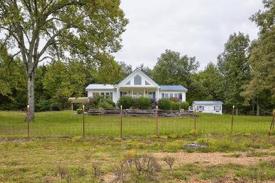 Readyville Single Family Home Under Contract - Showing: 1102 Tassey Road