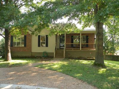 Goodlettsville Single Family Home For Sale: 102 Hollis Ct