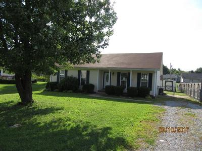 Clarksville Single Family Home Under Contract - Showing: 2802 Nat Hoosier Ln