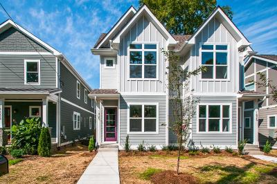 Nashville Single Family Home For Sale: 1825 A 11th Ave. N