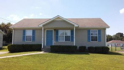 Clarksville Single Family Home For Sale: 446 Cranklen Cir