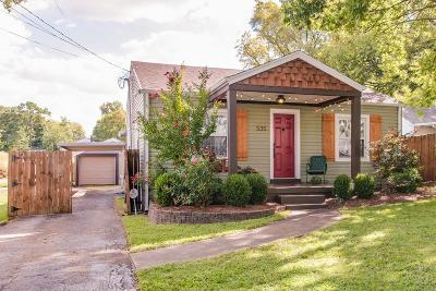Single Family Home For Sale: 535 Moore Ave