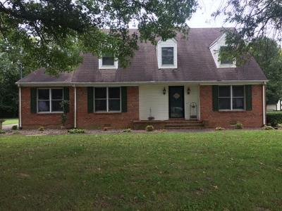 Shelbyville Single Family Home For Sale: 111 Idle Dr