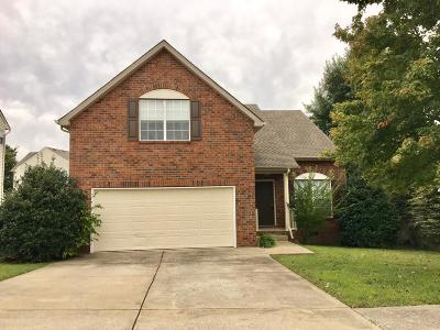 Hendersonville Single Family Home Under Contract - Showing: 116 Sumner Meadows Ln