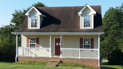 Clarksville Single Family Home Under Contract - Showing: 272 Audrea Ln