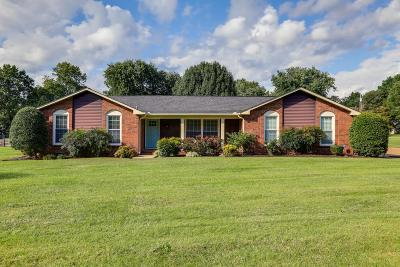 Williamson County Single Family Home Under Contract - Showing: 109 Essex Ct