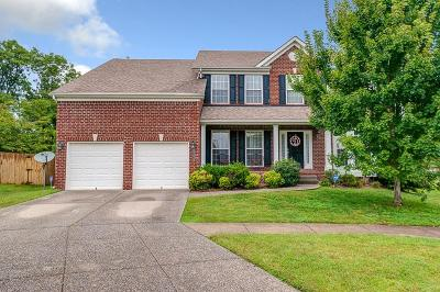 Nolensville Single Family Home For Sale: 2724 Water Ln