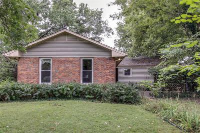 Davidson County Single Family Home For Sale: 1321 Clifton Ln